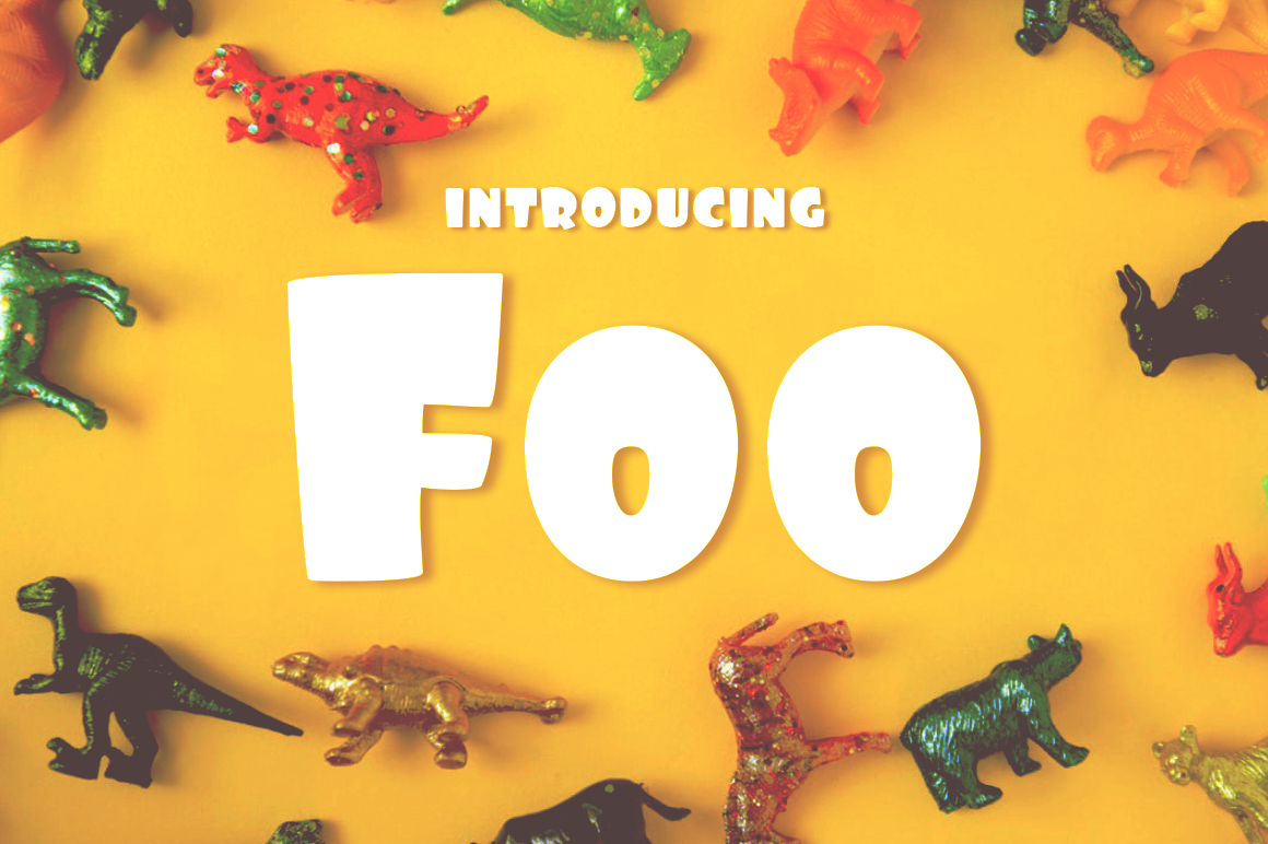 Foo Font By Typodermic