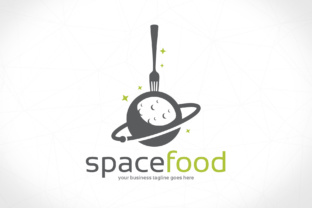 Download Free Food Cosmos Logo Template Grafico Por Vectorwithin Creative Fabrica for Cricut Explore, Silhouette and other cutting machines.