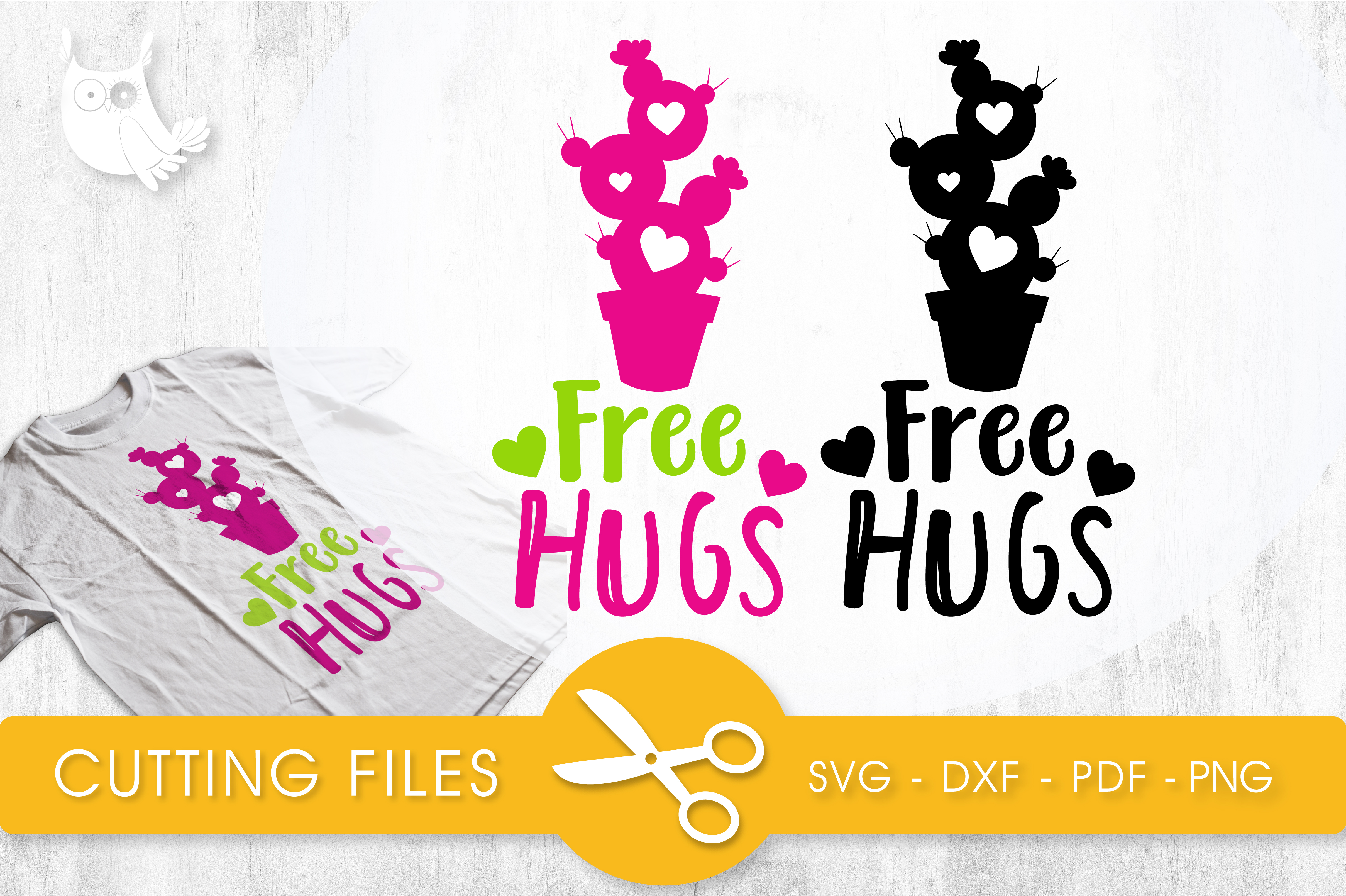 Free Hugs Graphic Crafts By PrettyCuttables