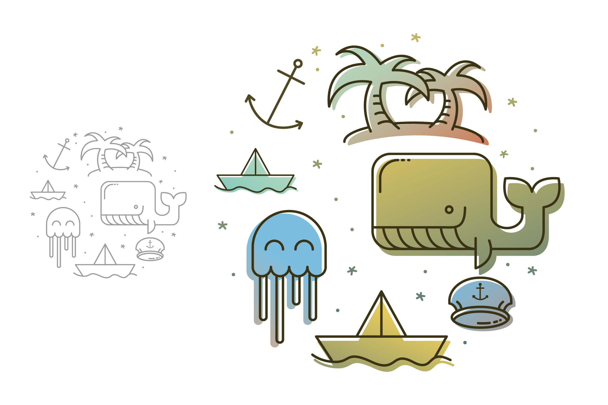 Fresh Sailor Graphic Illustrations By storictype