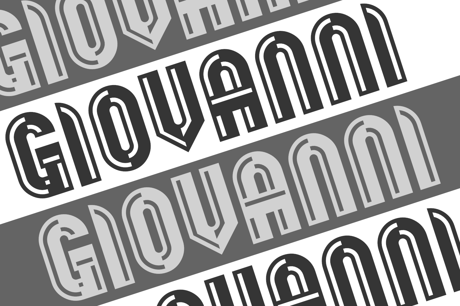 Print on Demand: Giovanni Display Font By thorchristopherarisland