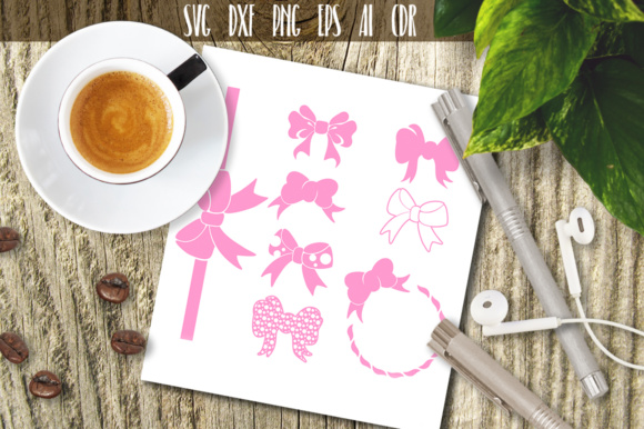 Download Free Girls Ribbons Svg Graphic By Vector City Skyline Creative Fabrica for Cricut Explore, Silhouette and other cutting machines.