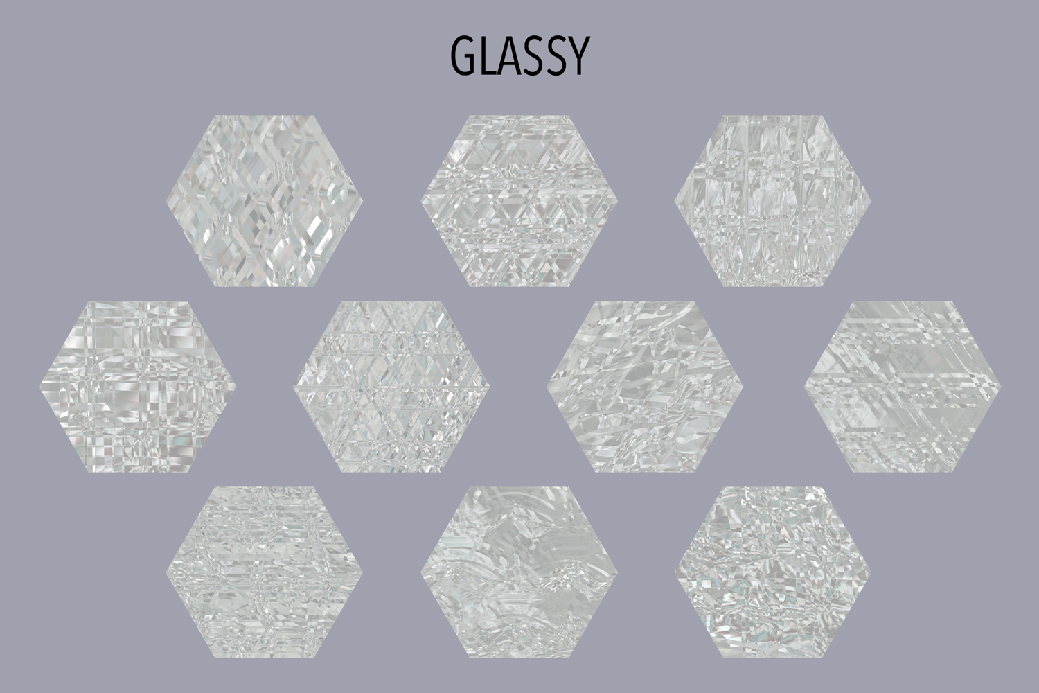 Glassy Textures Graphic Downloadable Digital File