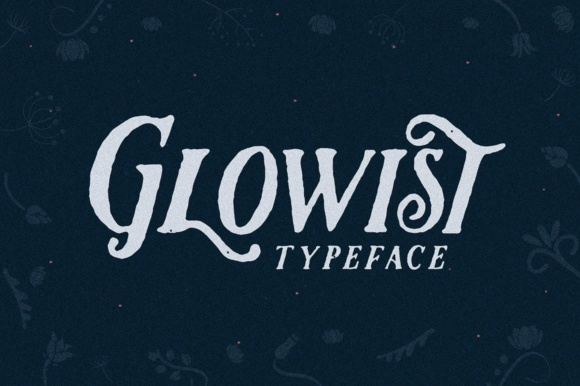 Print on Demand: Glowist Display Font By flavortype