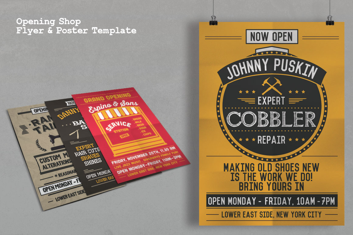 Print on Demand: Grand Opening Studio Flyer & Poster Graphic Print Templates By Tiar Prayoga - Image 3