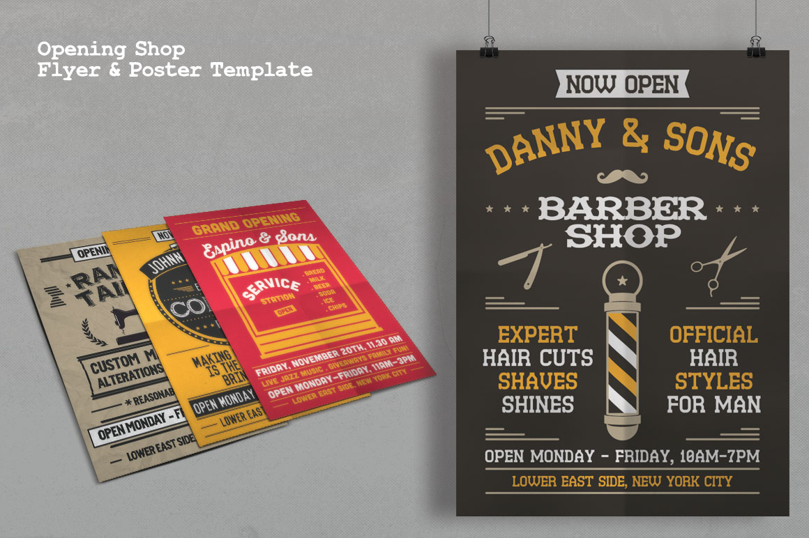 Print on Demand: Grand Opening Studio Flyer & Poster Graphic Print Templates By Tiar Prayoga - Image 4