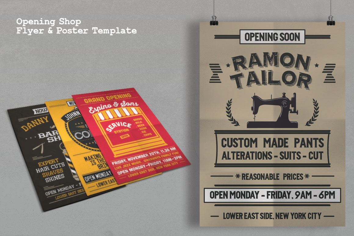 Print on Demand: Grand Opening Studio Flyer & Poster Graphic Print Templates By Tiar Prayoga - Image 5