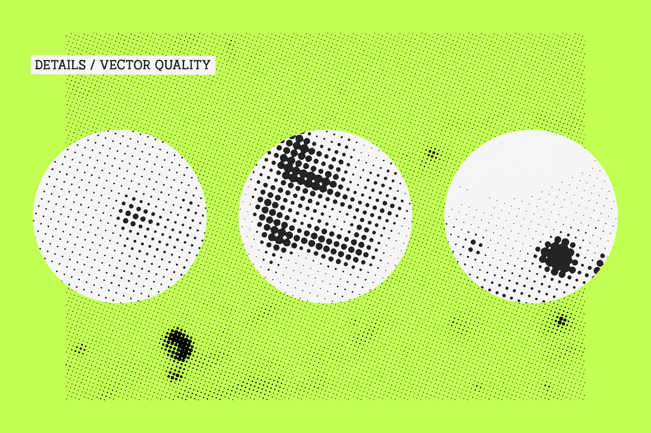 Halftone Stains Vol.#1 Texture Pack Graphic By antipixel Image 6