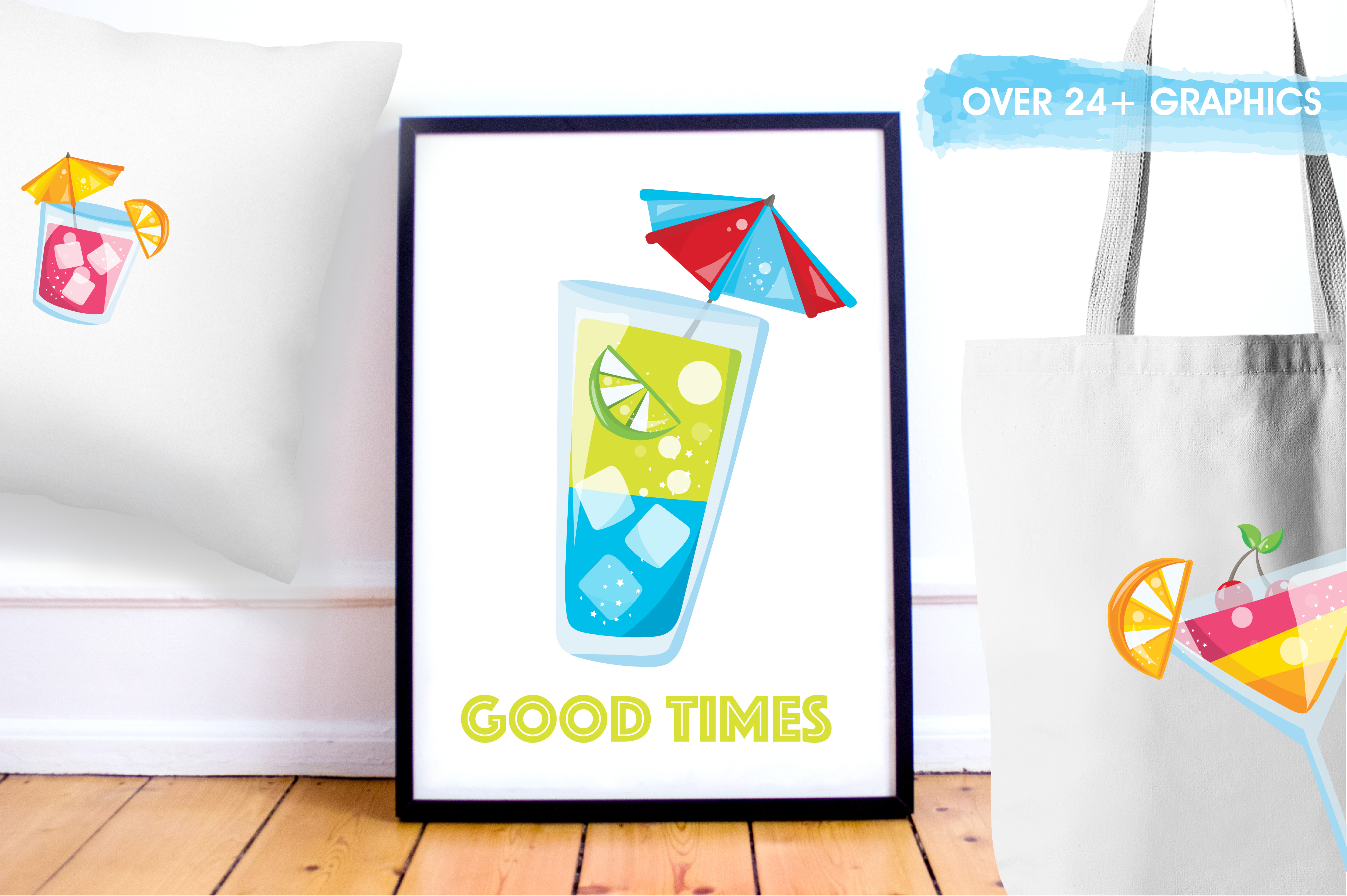 Print on Demand: Happy Hour Graphic Illustrations By Prettygrafik - Image 5