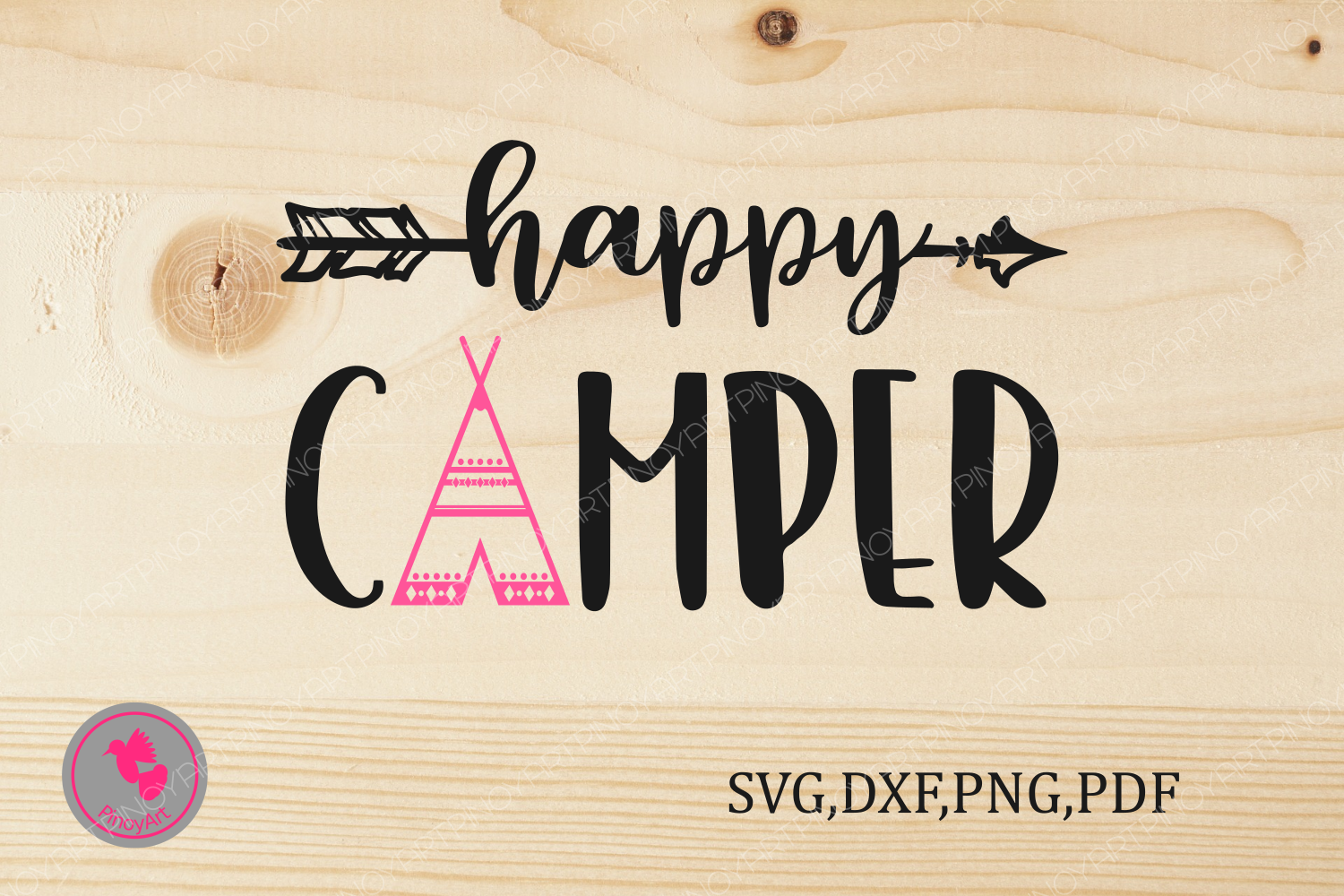 Happy Camper Svg, Camper Svg, Camping Svg, Camping Svg File, Happy Camper Graphics, Svg, Svg File, Svg Files for Cricut Graphic Crafts By Pinoyartkreatib