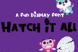 Print on Demand: Hatch-it-all Display Font By Illustration Ink