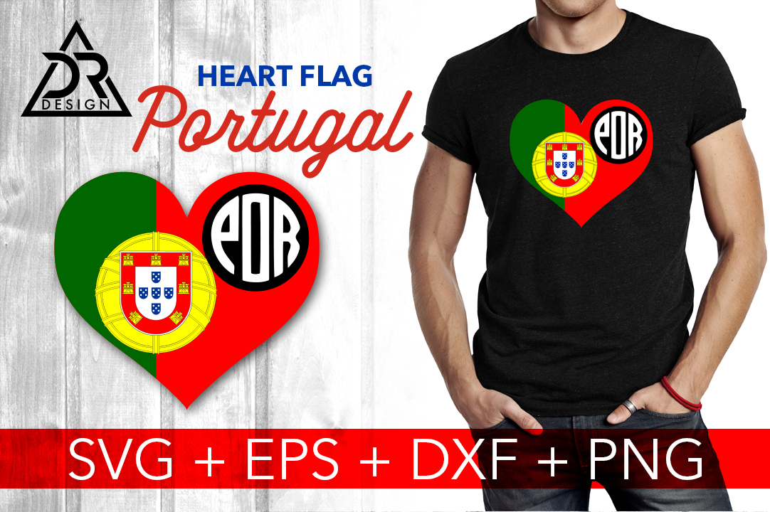 Download Free Heart Flag Portugal Svg Graphic By Davidrockdesign Creative for Cricut Explore, Silhouette and other cutting machines.