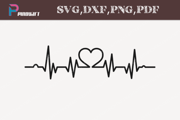 Download Free Heartbeat Graphic By Pinoyartkreatib Creative Fabrica for Cricut Explore, Silhouette and other cutting machines.