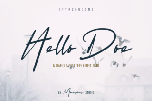Print on Demand: Hello Doe Display Font By mocosans