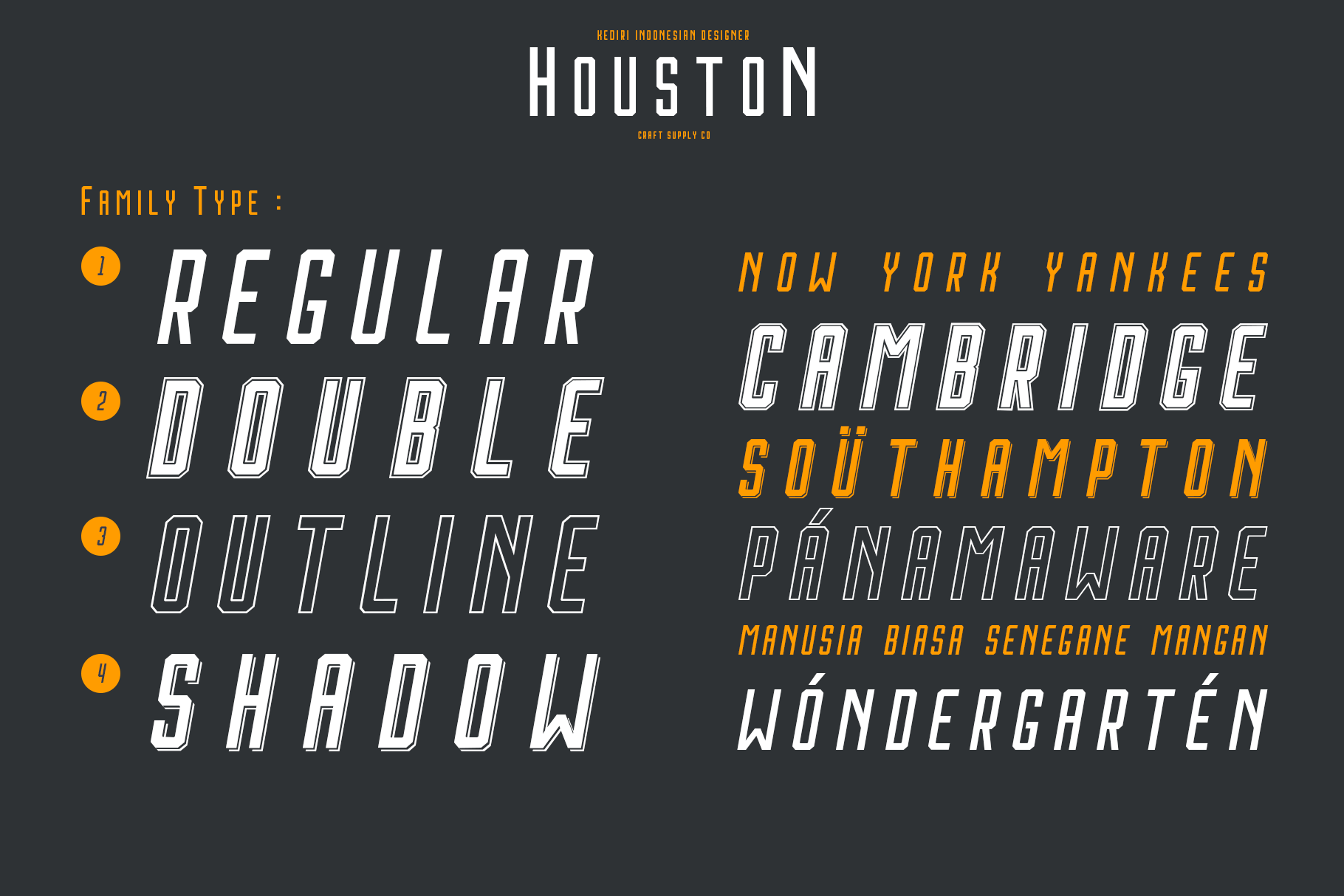 Print on Demand: Houston Italic Sans Serif Font By craftsupplyco - Image 5