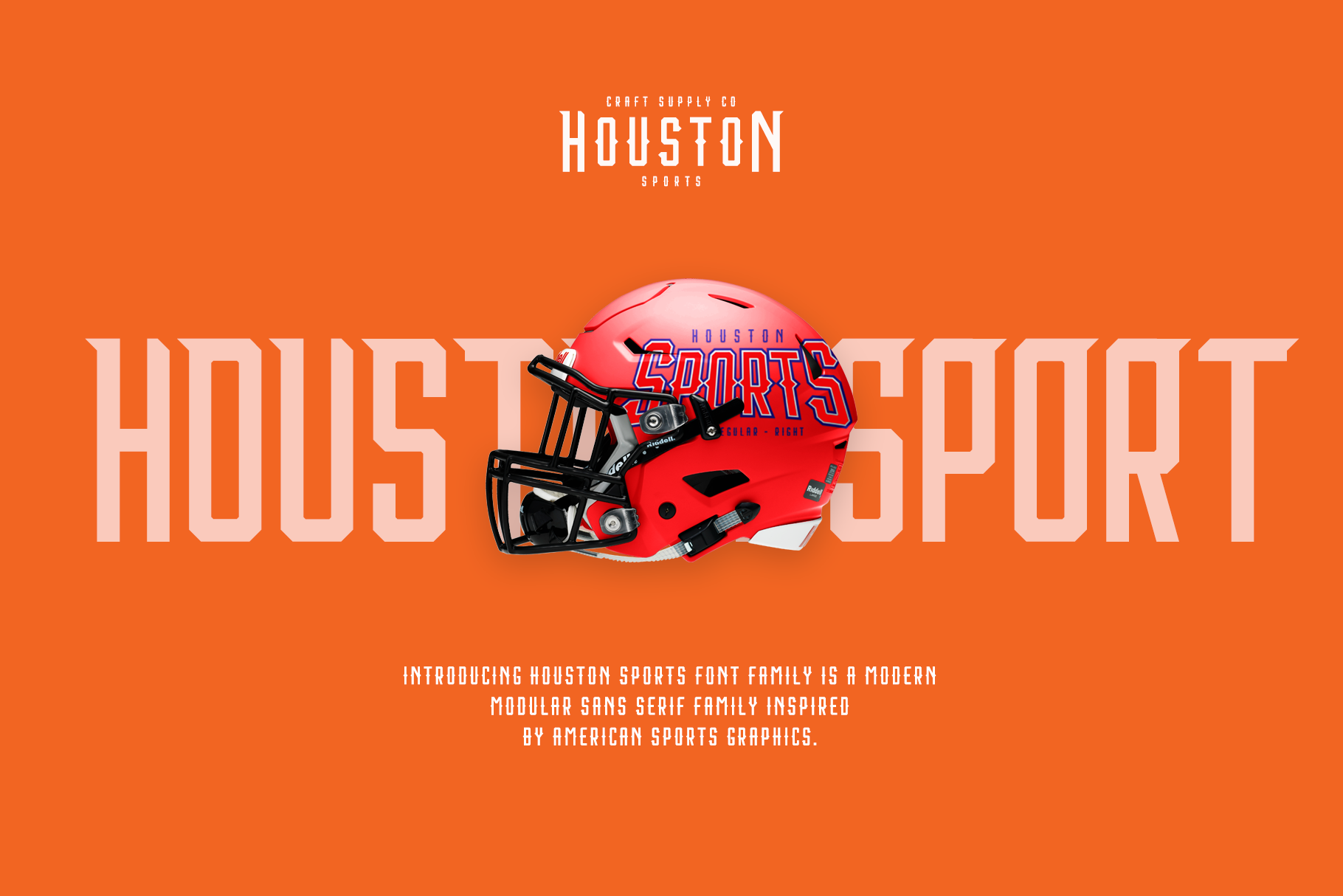 Print on Demand: Houston Sports Display Font By craftsupplyco - Image 2