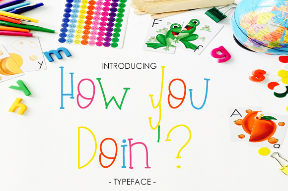 Print on Demand: How You Doin' Script & Handwritten Font By yh.seaofknowledge