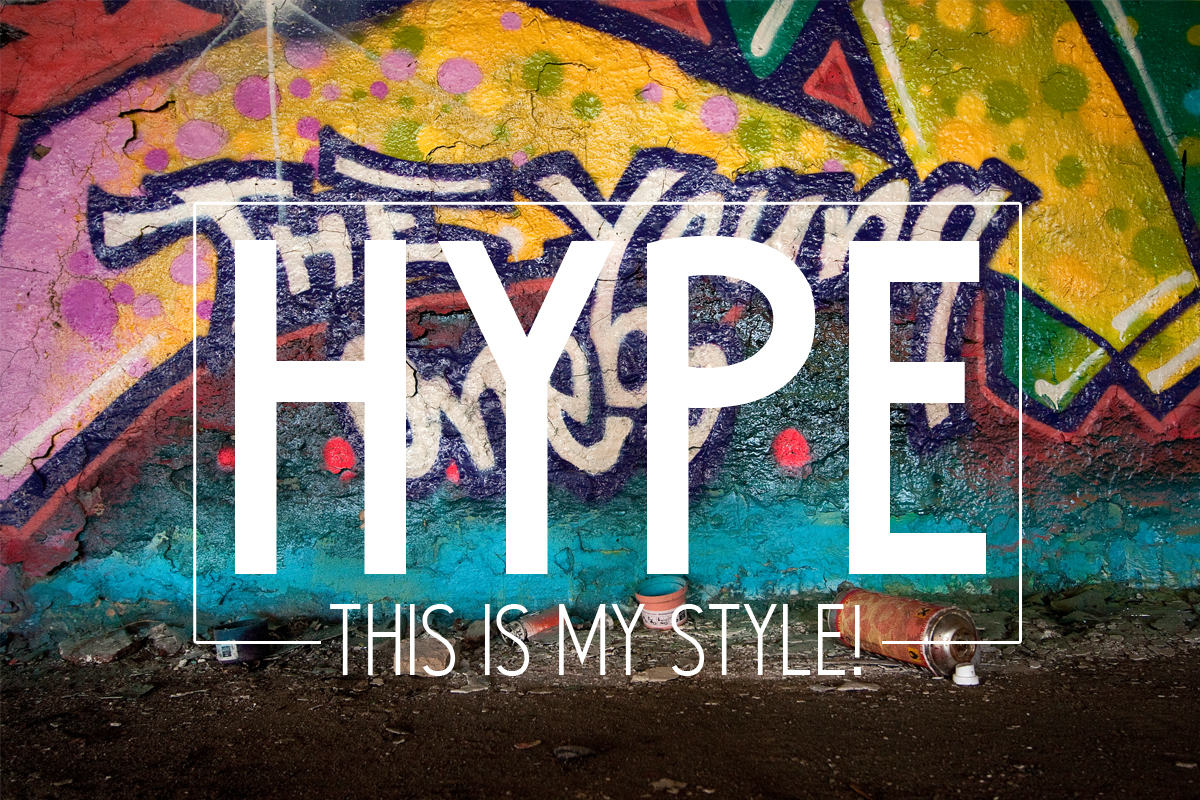 Print on Demand: Hype Sans Serif Font By nilsmerkel