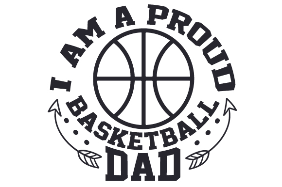 Download Free I Am A Proud Basketball Dad Svg Cut File By Creative Fabrica for Cricut Explore, Silhouette and other cutting machines.