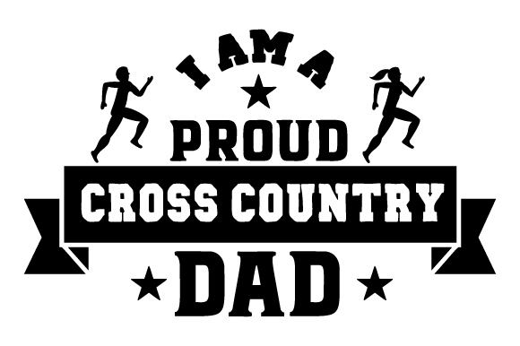 Download Free I Am A Proud Cross Country Dad Svg Cut File By Creative Fabrica for Cricut Explore, Silhouette and other cutting machines.