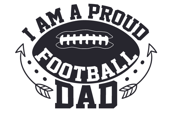 Download Free I Am A Proud Football Dad Svg Cut File By Creative Fabrica for Cricut Explore, Silhouette and other cutting machines.