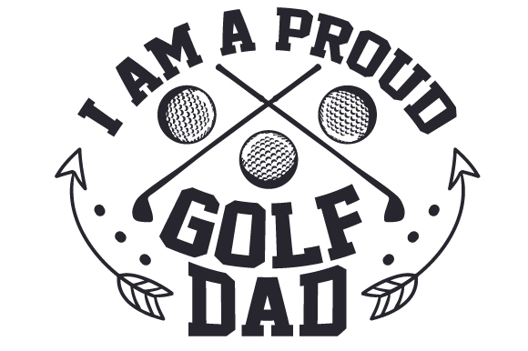 Download Free I Am A Proud Golf Dad Svg Cut File By Creative Fabrica Crafts for Cricut Explore, Silhouette and other cutting machines.