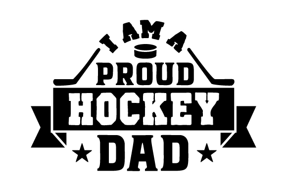 Download Free I Am A Proud Hockey Dad Svg Cut File By Creative Fabrica Crafts for Cricut Explore, Silhouette and other cutting machines.