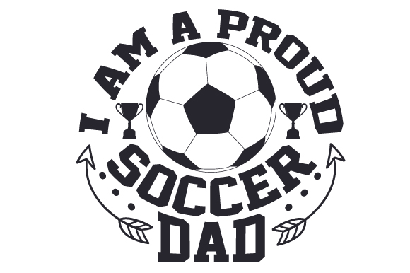 I Am A Proud Soccer Dad Svg Cut File By Creative Fabrica Crafts