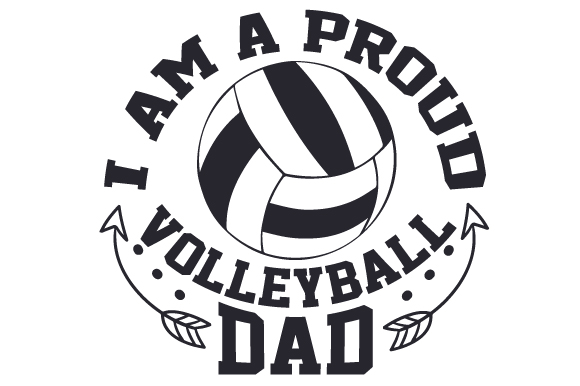 Download Free I Am A Proud Volleyball Dad Svg Cut File By Creative Fabrica for Cricut Explore, Silhouette and other cutting machines.