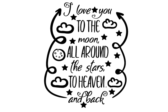 I Love You To The Moon All Svg Cut Files Free Download Vector Icons Svg Psd Png Eps Icon Font