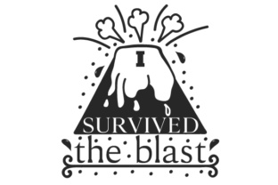I Survived the Blast Craft Design By Creative Fabrica Crafts