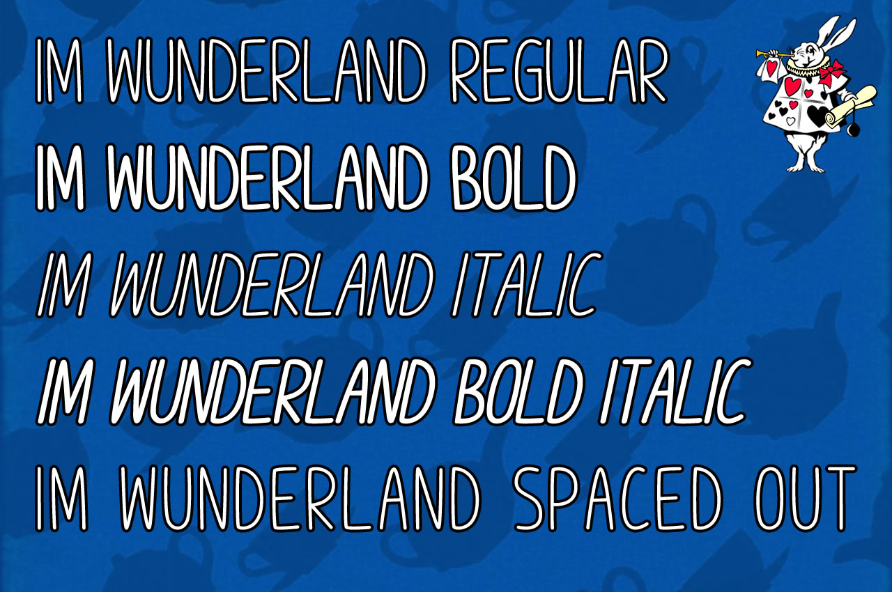 Print on Demand: Im Wunderland Script & Handwritten Font By Chequered Ink - Image 2