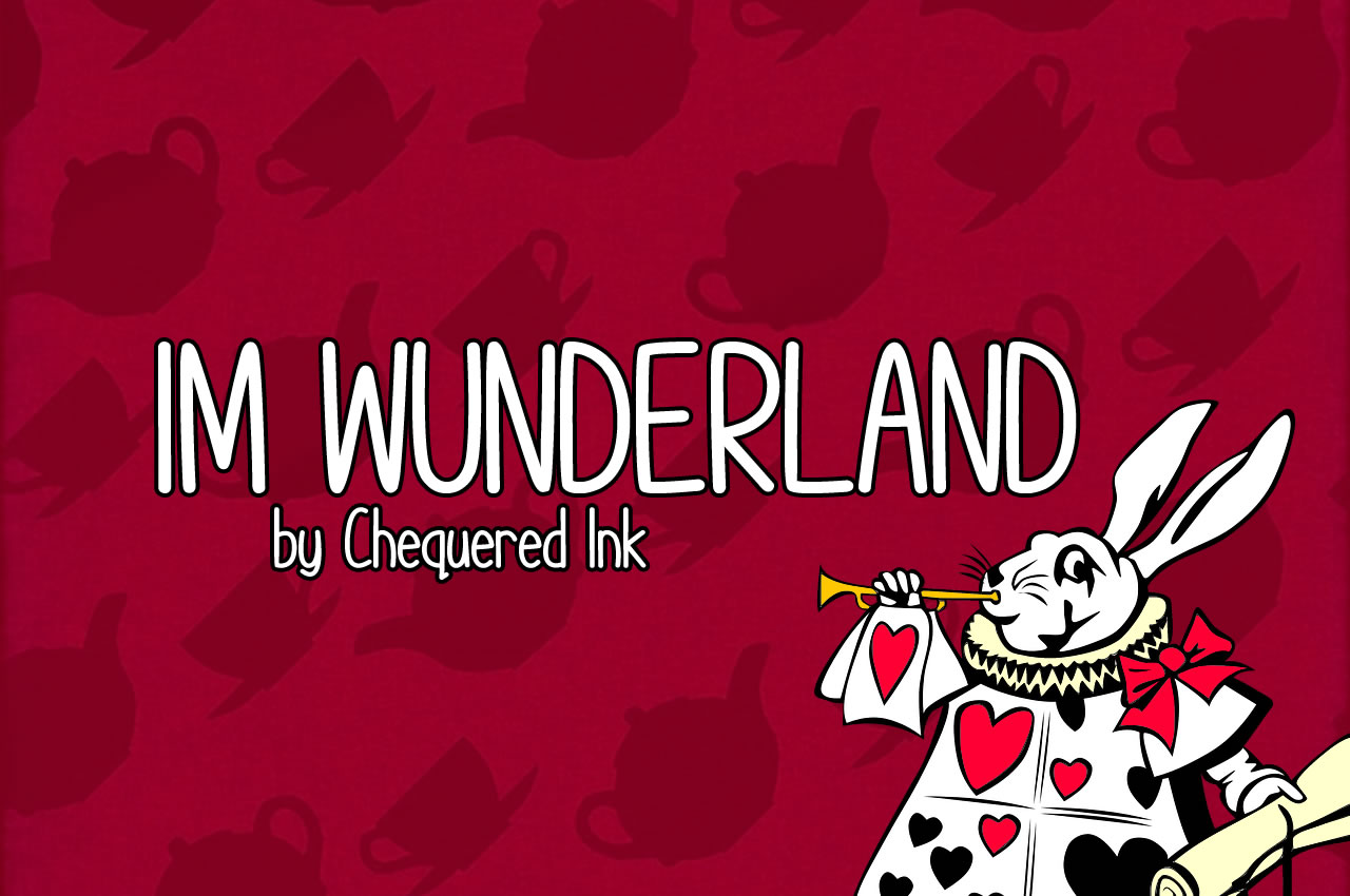 Print on Demand: Im Wunderland Script & Handwritten Font By Chequered Ink