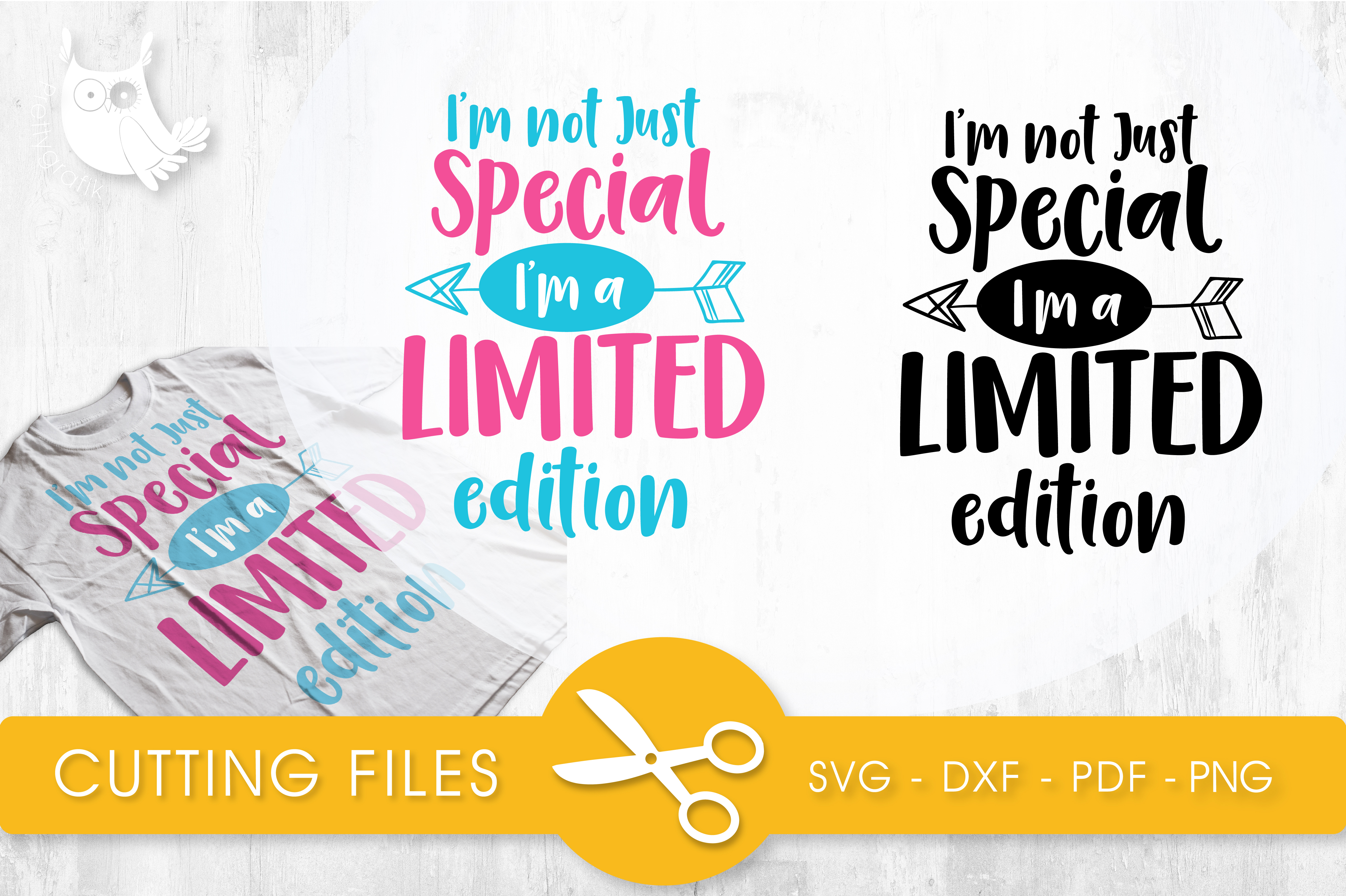 I'm Not Just Specials, I'm a Limited Edition Gráfico Crafts Por PrettyCuttables