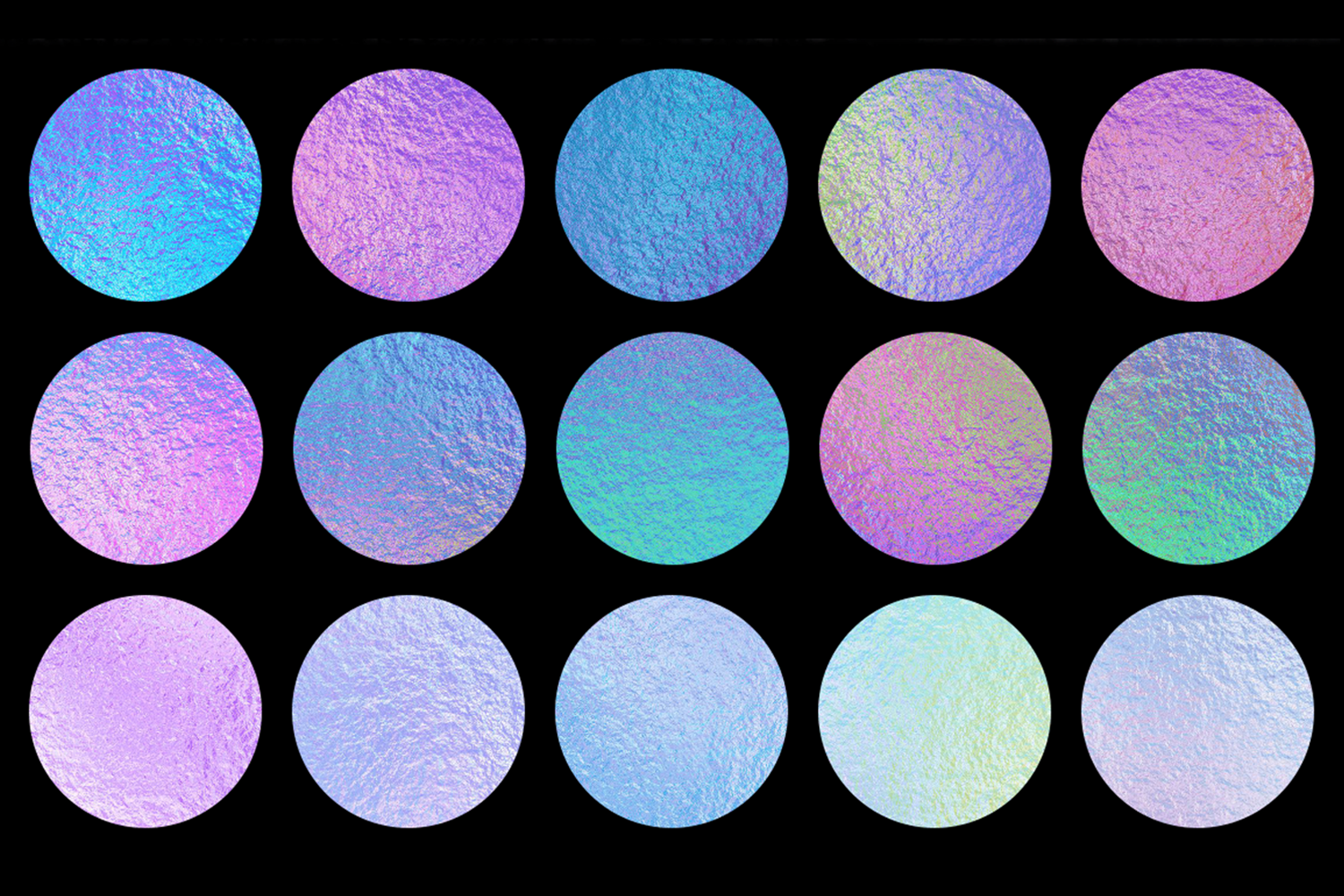 Print on Demand: Iridescent Collection Graphic Textures By JulieCampbellDesigns - Image 2