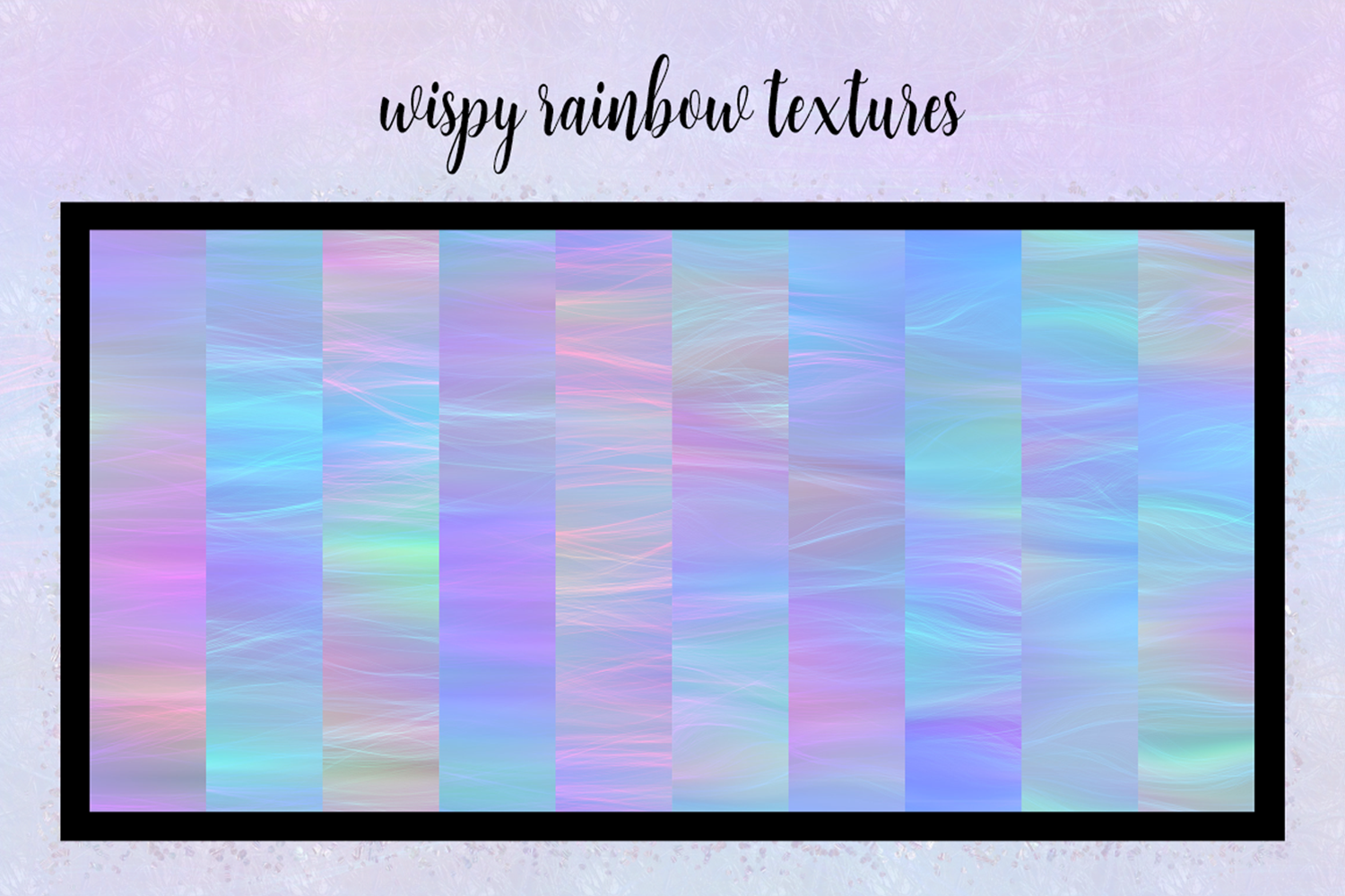Print on Demand: Iridescent Collection Graphic Textures By JulieCampbellDesigns - Image 12