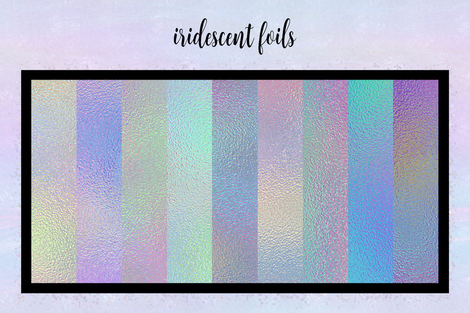 Print on Demand: Iridescent Collection Graphic Textures By JulieCampbellDesigns - Image 13
