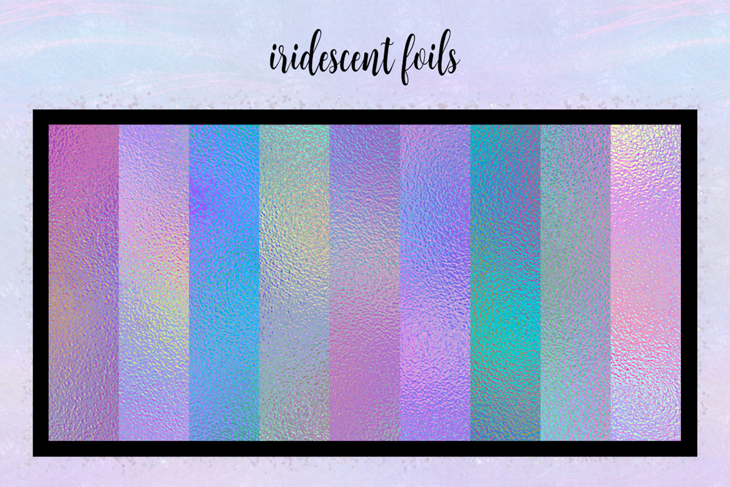 Print on Demand: Iridescent Collection Graphic Textures By JulieCampbellDesigns - Image 14