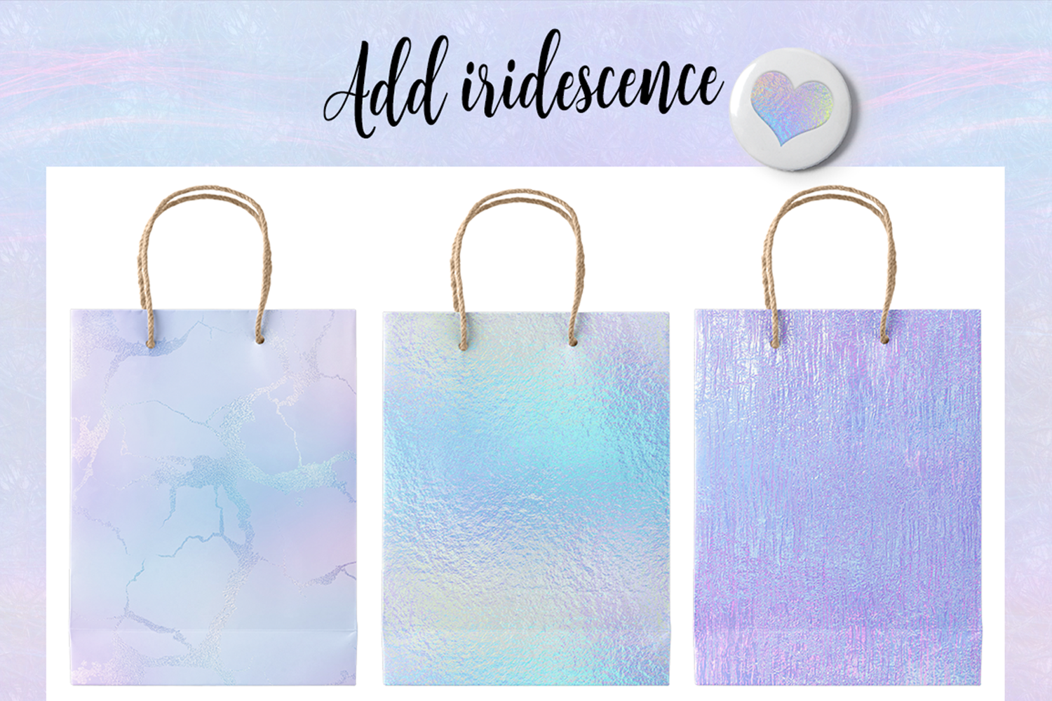 Print on Demand: Iridescent Collection Graphic Textures By JulieCampbellDesigns - Image 19