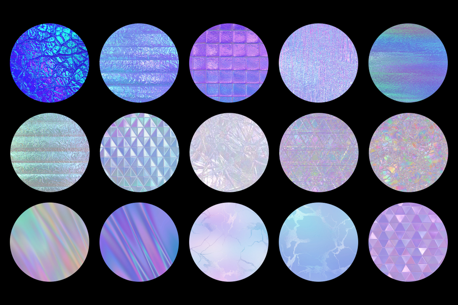 Print on Demand: Iridescent Collection Graphic Textures By JulieCampbellDesigns - Image 4