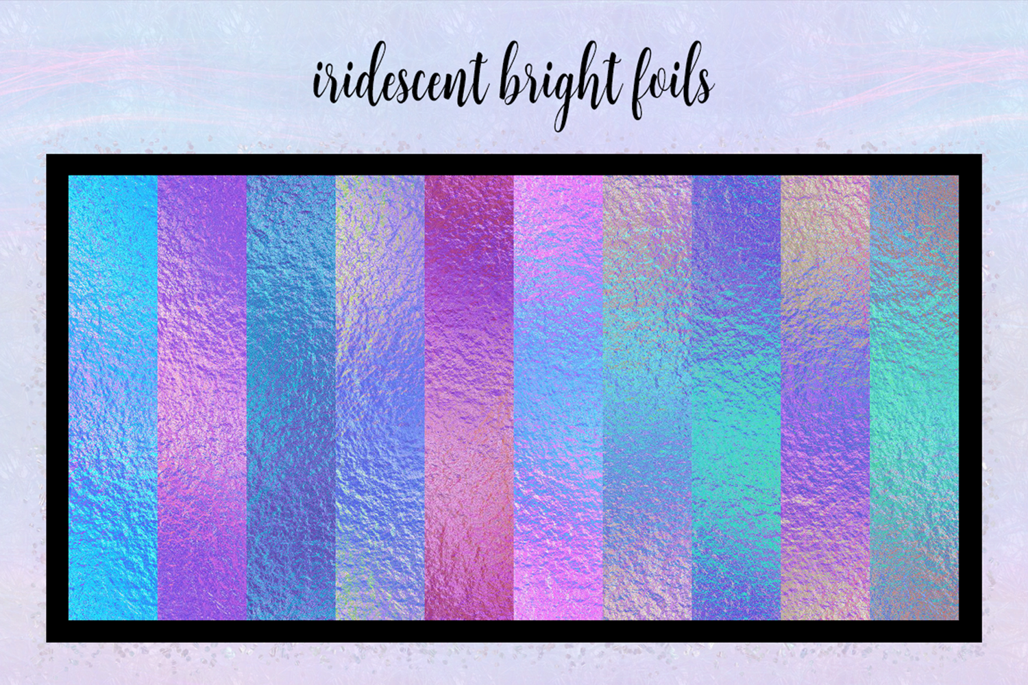 Print on Demand: Iridescent Collection Graphic Textures By JulieCampbellDesigns - Image 7