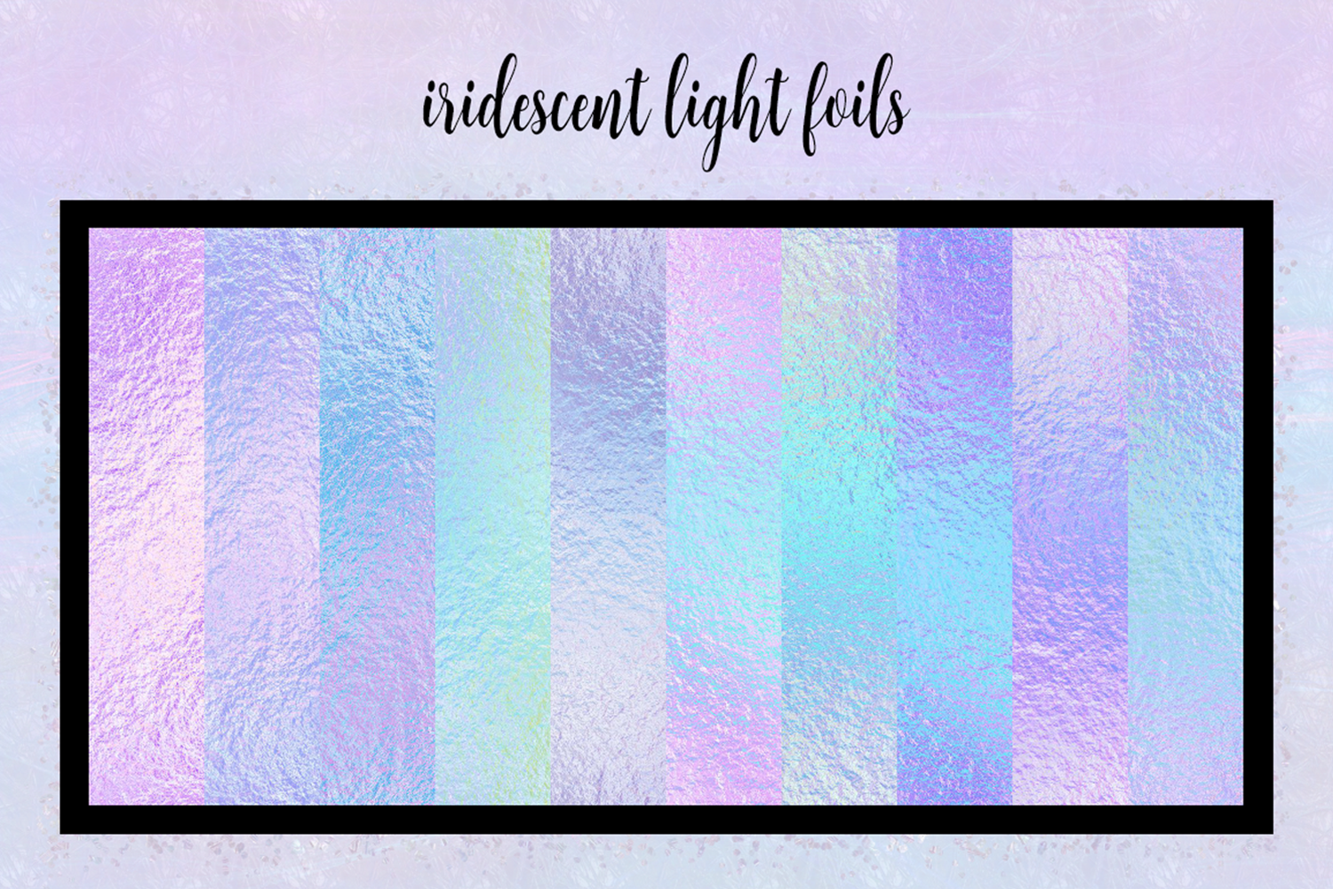 Print on Demand: Iridescent Collection Graphic Textures By JulieCampbellDesigns - Image 8