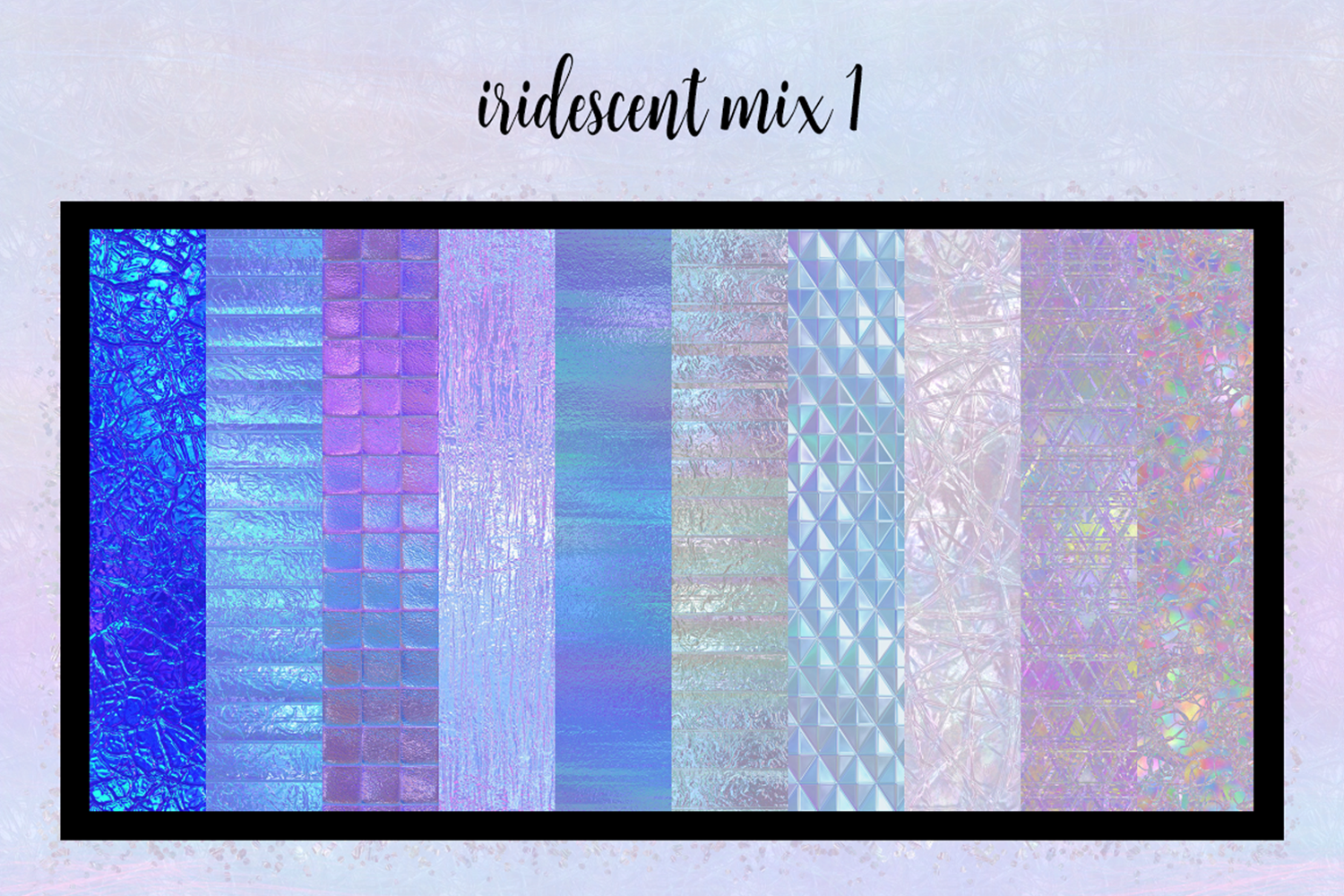 Print on Demand: Iridescent Collection Graphic Textures By JulieCampbellDesigns - Image 10
