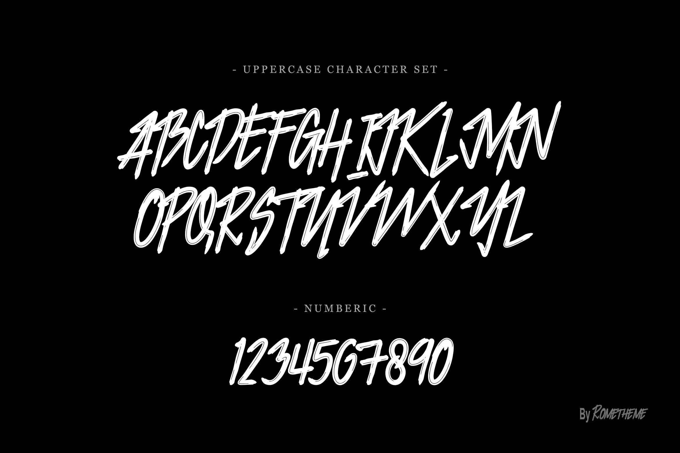 Print on Demand: Jacklyen Display Font By rometheme - Image 6