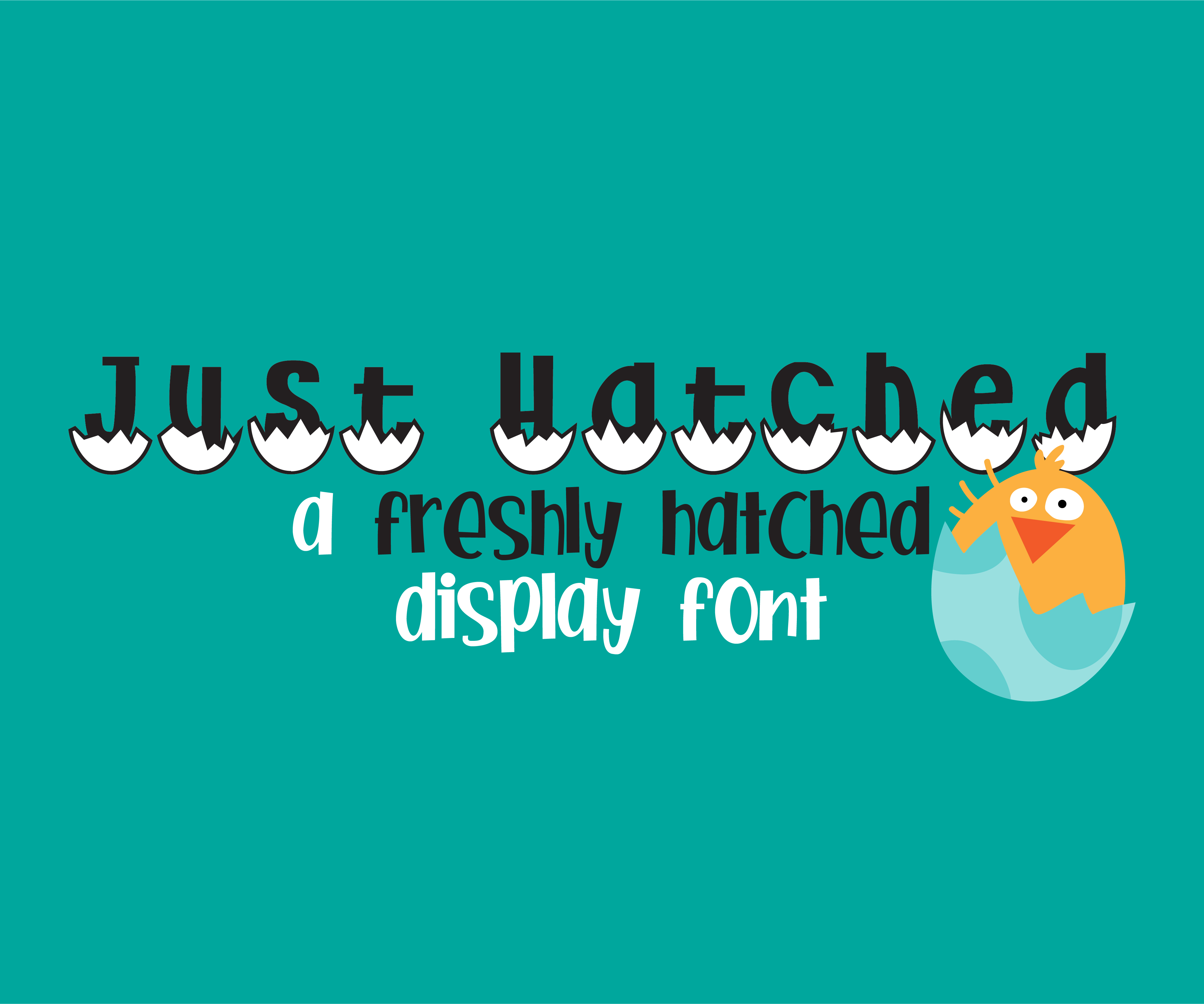 Print on Demand: Just Hatched Decorative Font By Illustration Ink
