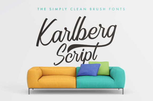 Print on Demand: Karlberg Script & Handwritten Font By Adam Fathony