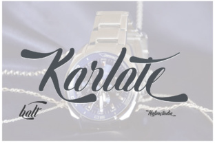 Karlote Font By halimantoni103