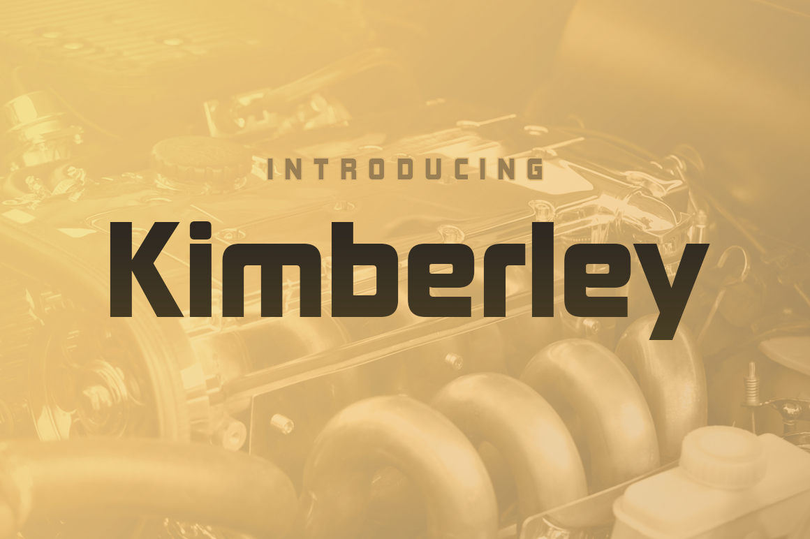 Print on Demand: Kimberley Sans Serif Font By Typodermic