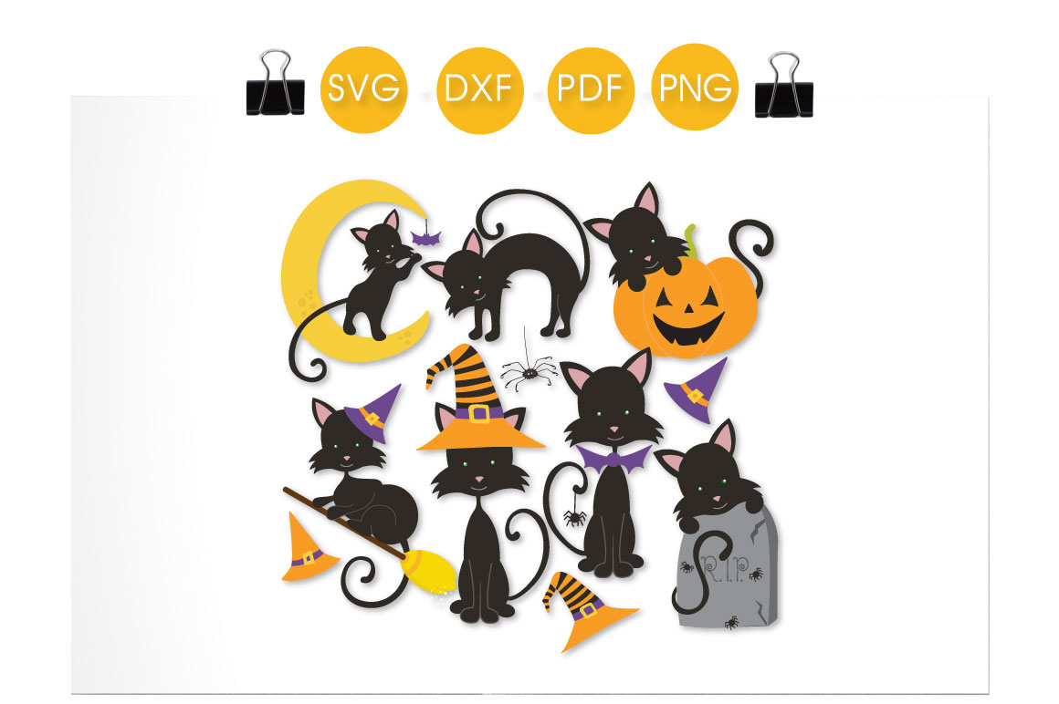 Kitty Boo Boo Graphic Crafts By PrettyCuttables - Image 2