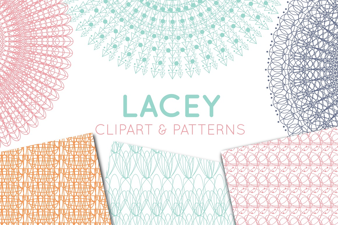 Print on Demand: Lace Doily, Lace Border & Patterns Graphic Illustrations By illuztrate - Image 1